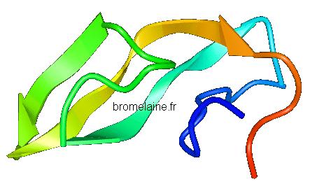 bromelaine structure