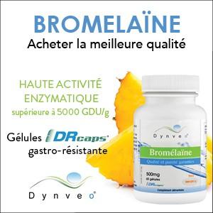 Bromelaïne gastro-resistante Dynveo